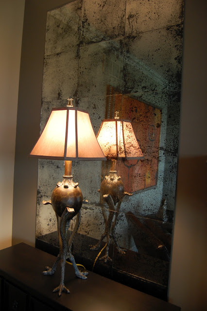 Picture Of DIY patina mirrors