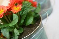 DIY patina planters