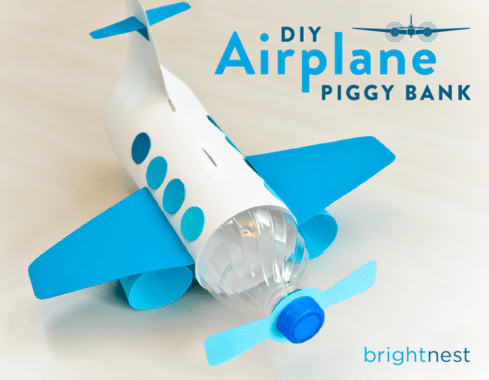 DIY bottle plane bank (via https:)