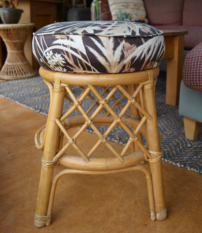 How To Reupholster And Repaint A Stool Shelterness