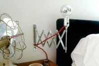 DIY expandable industrial lamp