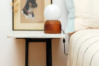 DIY round lamp