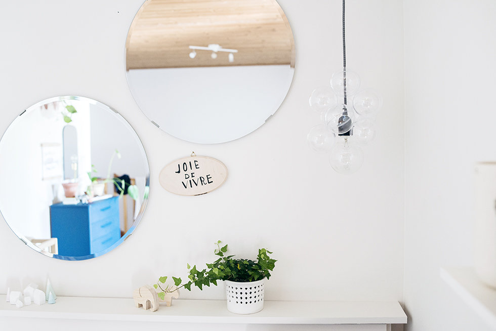 Picture Of scandi inspired diy glass bauble lamp  5