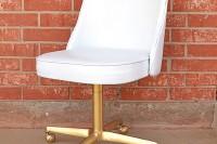 DIY flea chair makeover