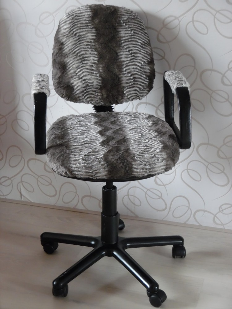 reupholster office chairs. diy fur chair reupholster via ahappyhomeinholland office chairs