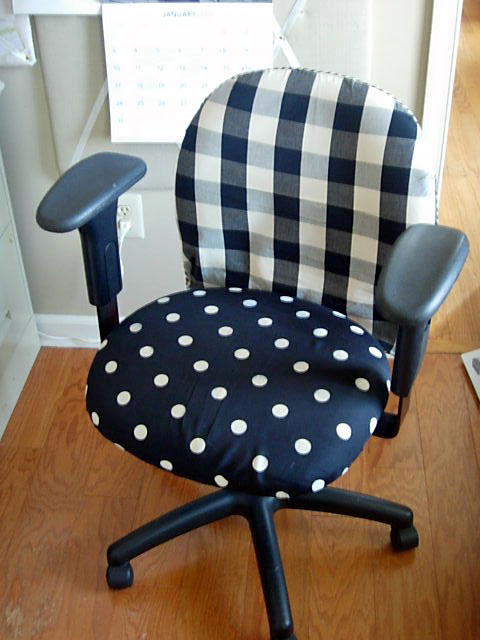 Fancy DIY desk chair renovation via inmyownstyle