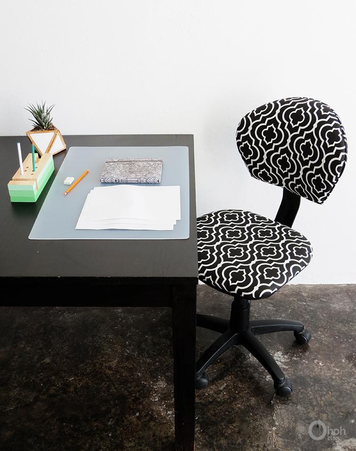 DIY chair makeover (via ohohblog)