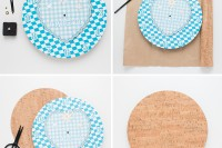 trendy-diy-cork-color-block-clock-4