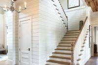 02 barn wood basement ceiling