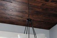 03 dark barn wood basement ceiling