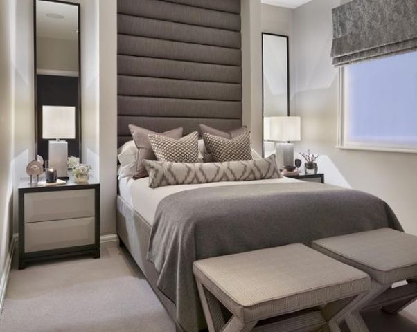 26 upholstered headboards to improve your bedroom for Large headboard ideas