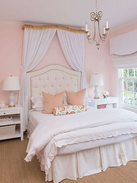 36 Chic And Timeless Tufted Headboards - Shelterness : pink quilted headboard - Adamdwight.com