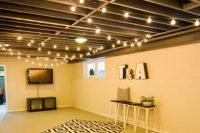 11 wooden basement ceiling