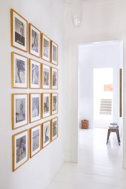 26 gallery wall ideas with same size frames