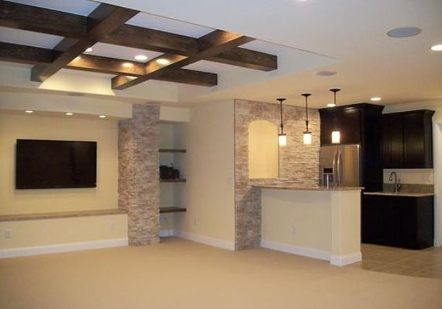 36 practical and stylish basement ceiling d cor ideas Basement ceiling color ideas