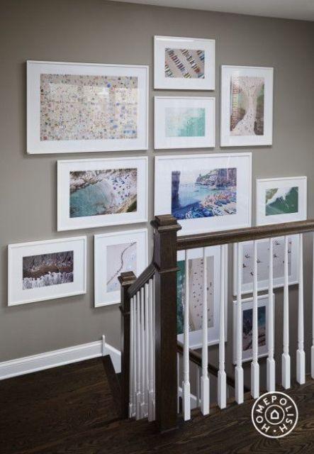 white frames gallery
