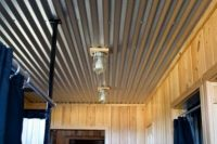 17 corrugated steel basement ceiling