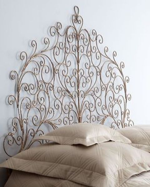 Vignette Metal Headboard