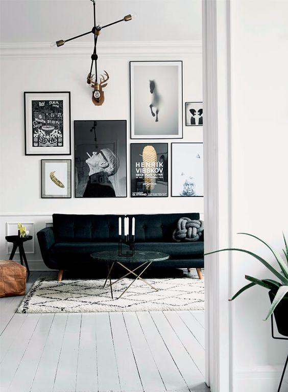 mismatching black frames gallery
