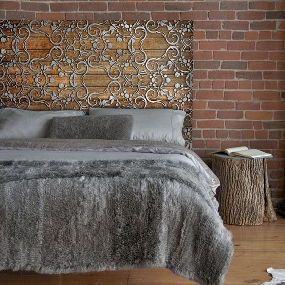 Creative Bedroom Wall Decor Brass Bed Bedroom Design Bedroom Design Black Bedroom Cupboards At Ikea: 28 Unique Metal Headboards That Are Worth Investing In