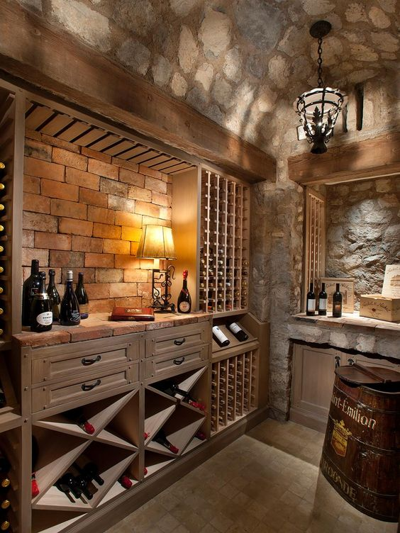 stone basement ceiling