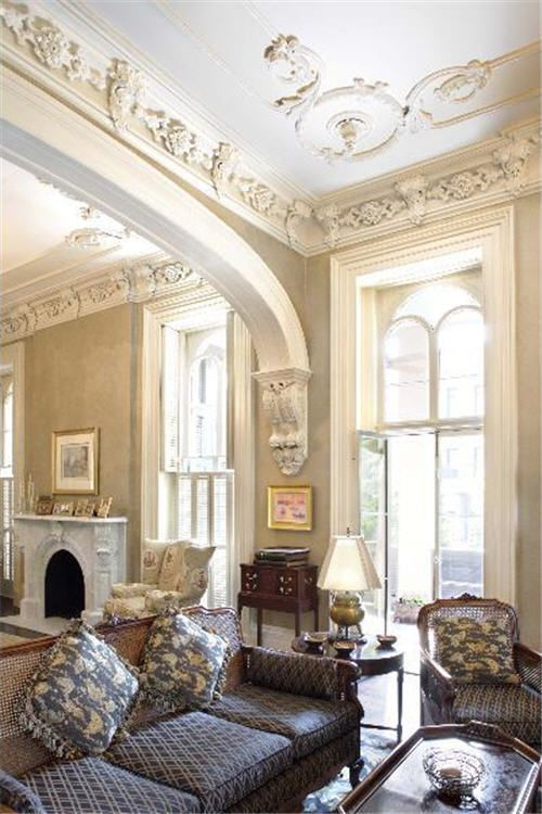 Front Elevation Molding : Ceiling trim and molding ideas to bring vintage chic