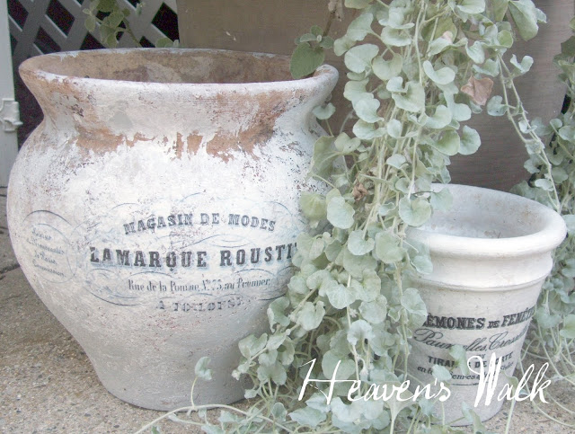 DIY French white wash pots (via onegoodthingbyjillee)