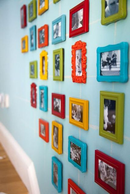bold frames gallery wall