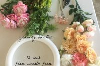 chic-diy-flower-and-greenery-wreath-2