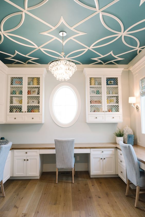 5 Beautiful Accent Wall Ideas To Spruce Up Your Home: 37 Ceiling Trim And Molding Ideas To Bring Vintage Chic
