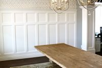 coffered-inspired ceiling molding