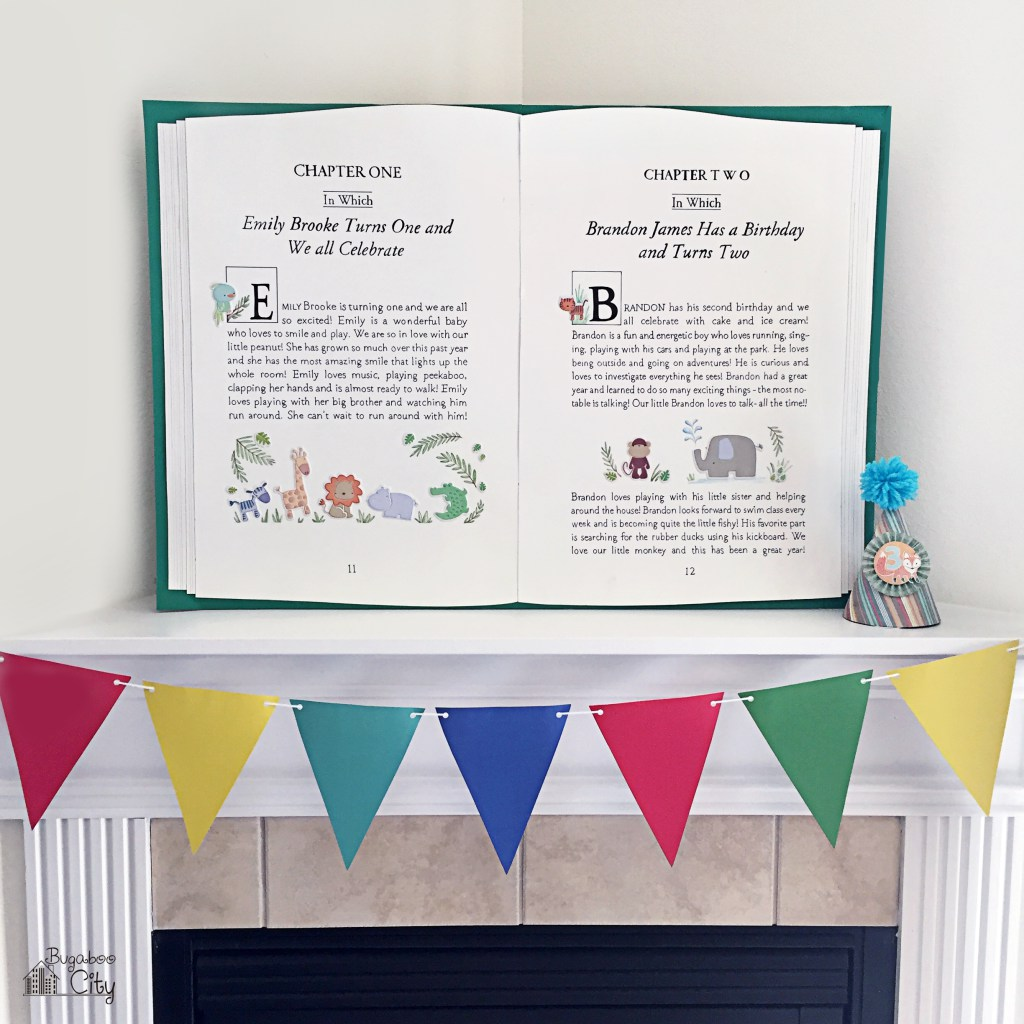 DIY storybook backdrop
