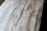 Faux barn wood finish