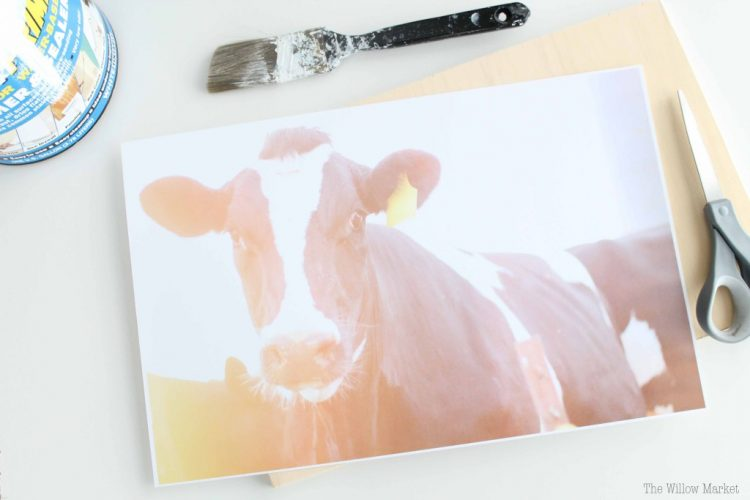 DIY Inexpensive Alternative To Canvas Prints