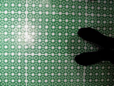 DIY tile floors (via lazycozy-rachellovecameron)