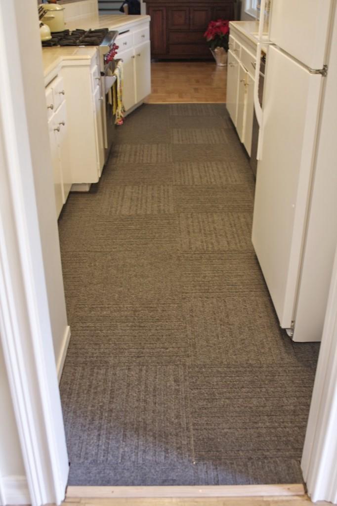 DIY temporary floors (via simplyorganized)