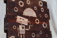 DIY image wood wall art