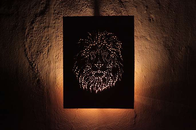Wall Art With Lights 21 diy wood wall art pieces for any room and interior - shelterness