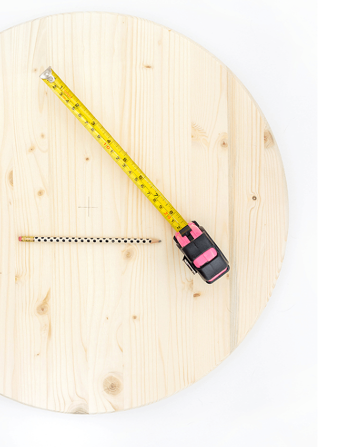 Picture Of fun and bold diy sliced cake wall clock  2