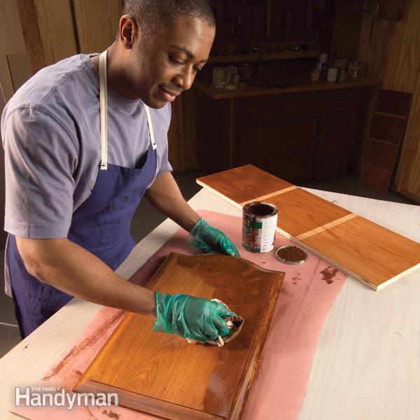 How to stain wood evenly without spots (via familyhandyman)