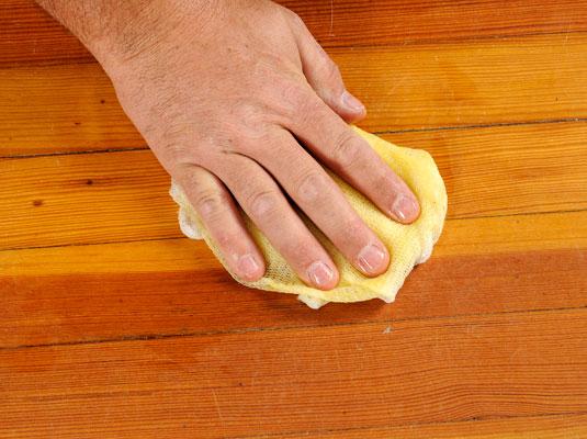 How to stain hardwood floors (via dummies)