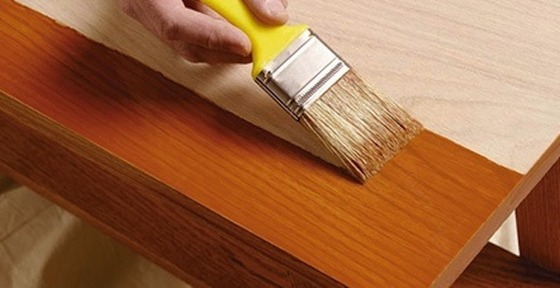 How to stain wood furniture (via bobvila)