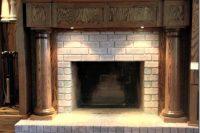 DIY whitewash brick