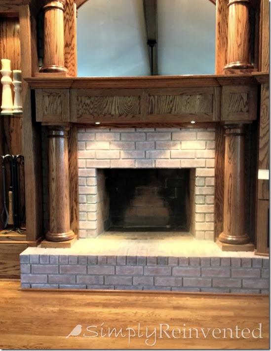 DIY whitewash brick (via simplyreinvented)