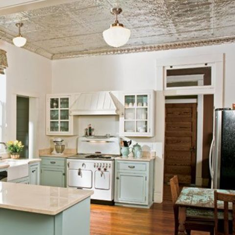 tin ceiling tiles in kitchen 24 trendy modern metal ceiling d 233 cor ideas shelterness 8528