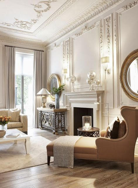 Refined Ceiling And Wall Molding