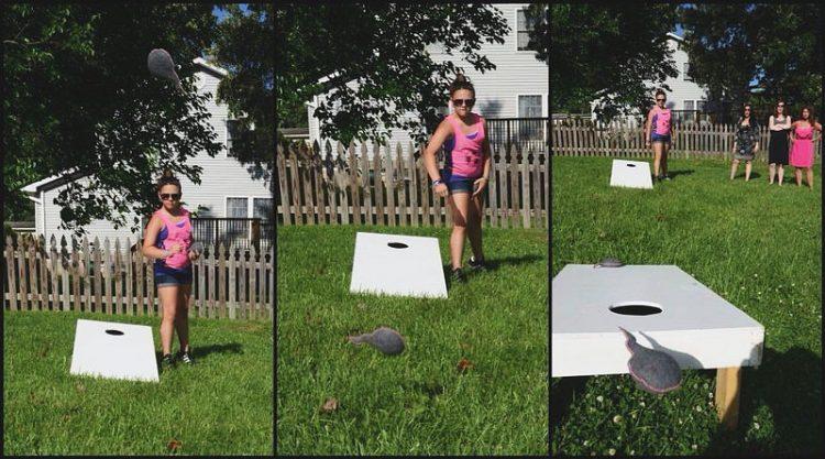 DIY cornhole game (via https:)