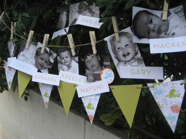 DIY 'whose that baby' game (via https:)