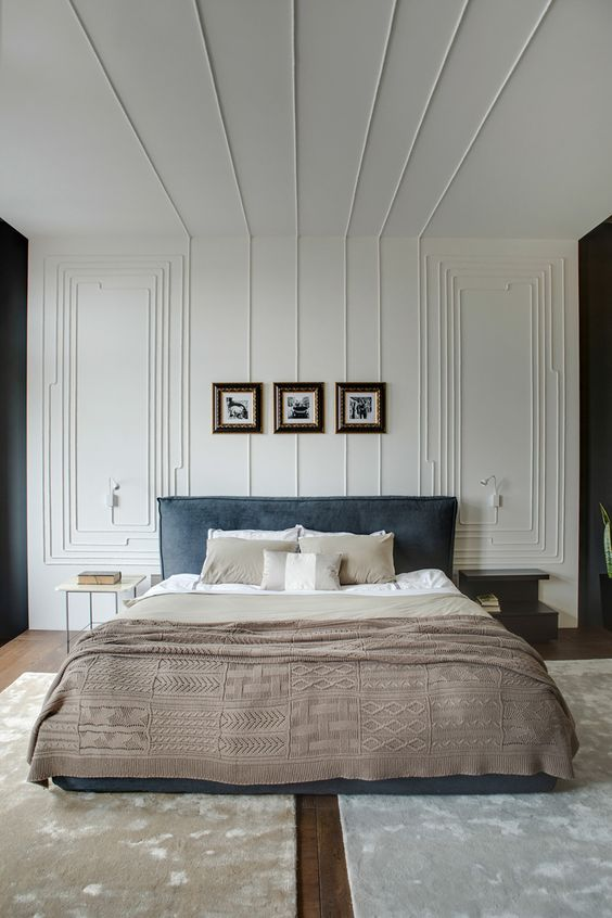 37 ceiling trim and molding ideas to bring vintage chic for Modern trim ideas