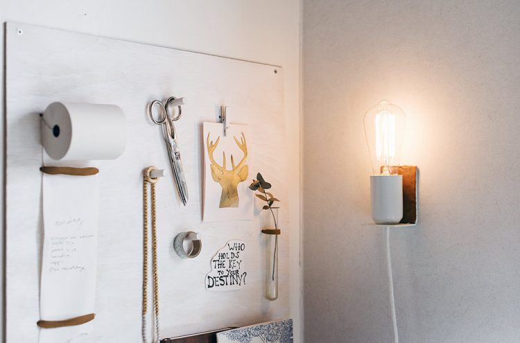 diy wall lamps Archives - Shelterness